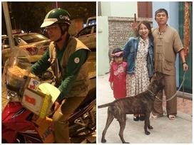 Xúc động tâm sự của cô gái có bố làm tài xế Grab Bike