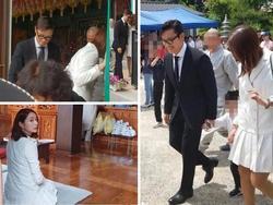 Sao Hàn 30/5: Lee Byung Hun lần đầu để lộ mặt con trai