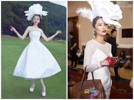 Một chiếc mũ hai số phận: Hương Giang lộng lẫy như công chúa - 'tình cũ' Kim Lý thành thảm họa