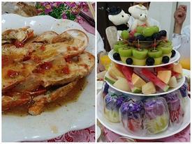 Cỗ cưới quê hoành tráng với 20 món toàn hải sản sang chảnh khiến dân tình choáng váng