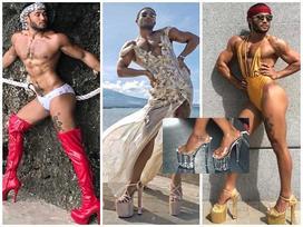 Tuyển tập giầy 'cà kheo' nhìn là choáng của 'thánh catwalk' Sinon Loresca