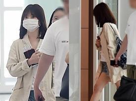 Song Hye Kyo lộ vòng hai bất thường tại sân bay