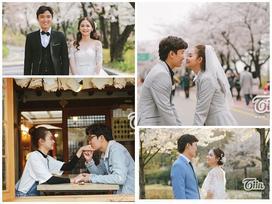 Bộ ảnh cưới 'cực tình' được chụp tại Seoul của cặp đôi Việt