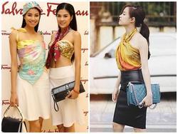 Clip: Hô biến khăn choàng thành muôn kiểu váy áo chuẩn trendy