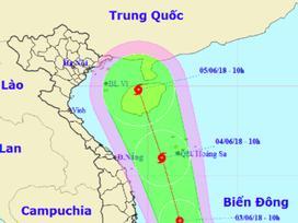 Hình thành áp thấp nhiệt đới trên Biển Đông, có thể mạnh lên thành bão