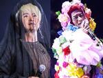 'Nhĩ Thái' Trần Chí Bằng mặc đồ xuyên thấu, lộ nội y trên sân khấu