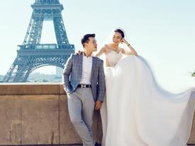 Không một lời tỏ tình từ lúc yêu tới cưới, cặp đôi chứng minh tình yêu bằng bộ ảnh cưới tại Pháp đẹp long lanh