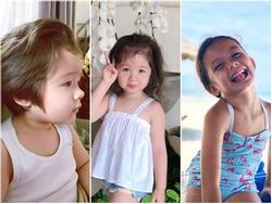 Những em bé lai đáng yêu đến phát hờn của nhà sao Việt