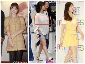 'Tượng đài nhan sắc' như Song Hye Kyo cũng nhiều lần lọt top sao xấu vì váy áo kém duyên