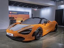 Siêu xe McLaren 720S làm từ 280.000 viên Lego