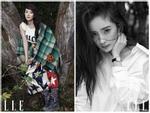Mê đắm khi ngắm vẻ đẹp thuần khiết của Dương Mịch trên tạp chí Elle