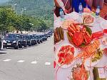 Choáng váng trước đám cưới ăn như khách sạn 5 sao, đón dâu bằng gần 200 xe ô tô ở Hà Nội