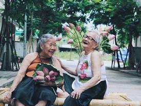 Lúc về già, chỉ ước có tình bạn đẹp như 2 cụ trong bộ ảnh này