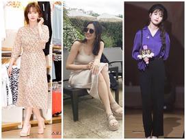 Street style sao Hàn: Son Ye Jin gợi cảm hết nấc - 'nàng cỏ' Goo Hye Sun khoe nhan sắc 'lão hóa ngược'