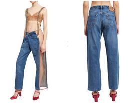 Quần jeans hở bạo không thể diện nội y có giá hơn 10 triệu đồng