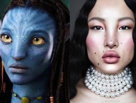 Nhan sắc tranh cãi của người mẫu Trung Quốc được khen đẹp kỳ lạ