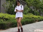 Tin sao Việt: Thu Minh phân vân 'ra đường đâu cần mặc quần'
