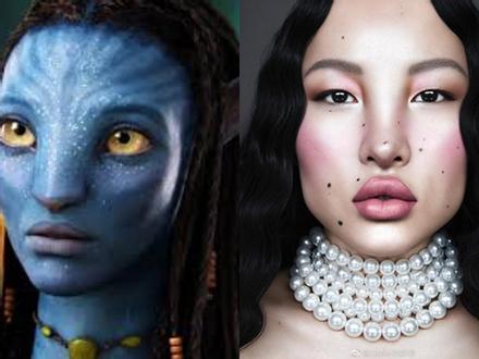 Người mẫu Tây Tạng sở hữu vẻ đẹp lạ, được ví như phiên bản đời thực của 'Avatar'