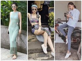 Thích mặc xuyên thấu lấp ló nội y, Khánh Linh The Face nổi bật nhất street style giới trẻ tuần qua