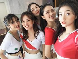 Dàn hot girl Việt cổ vũ 'World Cup 2018': Nóng hơn bao giờ hết