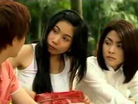 Cách đây 10 năm, Thủy Tiên từng hồn nhiên giành trai của Tăng Thanh Hà