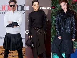 Sao nam Việt và xu hướng mặc váy nữ tính - lúc đầu lạ giờ thì quen rồi