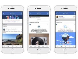 Facebook ra mắt Memories giúp ôn lại kỷ niệm xưa