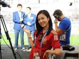 Nữ MC Hàn Quốc từng gây thương nhớ tại 'World Cup 2014' giờ ra sao?
