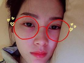 Tin sao Việt: Hoa hậu Thu Thảo than bị vẹo cổ phải nằm một chỗ