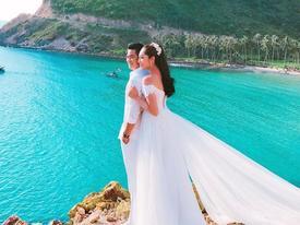 'Hoa hậu Đại dương' Đặng Thu Thảo lấy chồng doanh nhân ở tuổi 24