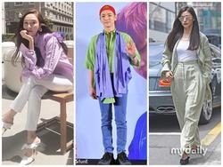 Street style sao Hàn: 'Mẹ bỉm sữa' Jeon Ji Huyn tái xuất cuốn hút - Key (SHINee) diện áo hai lớp thảm họa