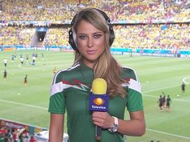 Nữ phóng viên quyến rũ nhất 'World Cup 2014' thay đổi thế nào sau 4 năm?