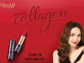 Tinh tế, thanh lịch cùng son lì Collagen Lip On Lip Charm