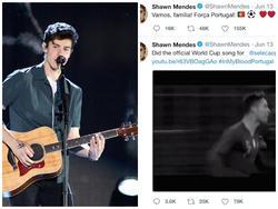 Tung ca khúc cổ vũ 'World Cup', Shawn Mendes nhận 'gạch đá' từ cư dân mạng