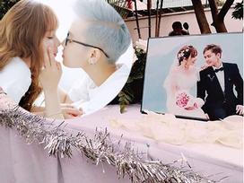 Sau đám cưới ở Mỹ, vợ chồng Tô Trần Di Bảo thuê biệt thự hạng sang mở tiệc đãi khách lần 2 ở Việt Nam
