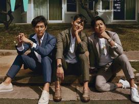Sao Hàn 16/6: Bộ ba tài tử 'U50 quyết không lấy vợ' gây sốt trên bìa tạp chí