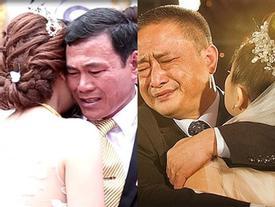 Ngày con gái đi lấy chồng, cha khóc cạn nước mắt