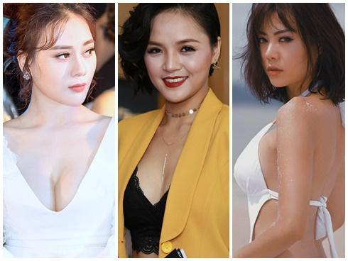 Vẻ quyến rũ sexy hết nấc của 3 'cave' đang gây bão màn ảnh Việt