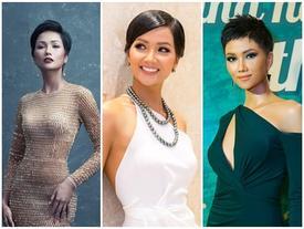 Phong thủy chuẩn cho đầm dạ hội của H'Hen Niê để dễ bề mê hoặc dàn giám khảo Miss Universe 2018