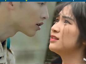 'Thánh lầy' Hòa Minzy đóng vai bác sĩ Kang 'Hậu duệ mặt trời' khiến ai xem cũng sợ