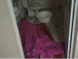 Khoe 'chiến công' cho chồng say rượu nằm gọn trong phòng vệ sinh, vợ trẻ bị ném đá dữ dội