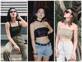 Khám phá chiếc áo 1 gang giúp dàn hot-face Việt sexy hết nấc với street style rực rỡ ngày hè