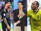 Trịnh Thăng Bình gây tranh cãi vì chế nhạo Messi sau trận Thụy Điển