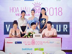 V-SixtyFour tài trợ trang phục chính Hoa hậu Việt Nam 2018