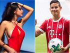 Vẻ nóng bỏng của người mẫu 9X bị đồn hẹn hò sao bóng đá Colombia