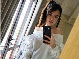 Tú Linh khoe dáng nuột nà dù mới sinh con một tháng