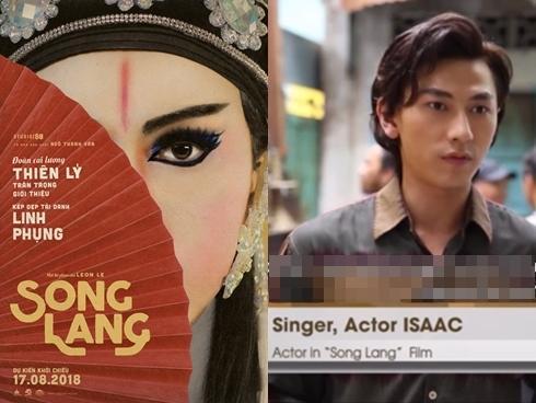 Isaac tiếp tục đóng vai chính phim cải lương của Ngô Thanh Vân