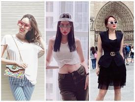 Street style sao Việt: 'Nàng dâu' Bảo Thanh sành điệu - Lan Khuê hàng hiệu đẳng cấp