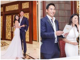 Lễ cưới đơn giản của sao nữ TVB vướng bê bối 'mây mưa' nơi công cộng