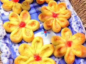 Cách làm bánh mì hoa cúc và bánh quy vị cà phê thơm lừng
